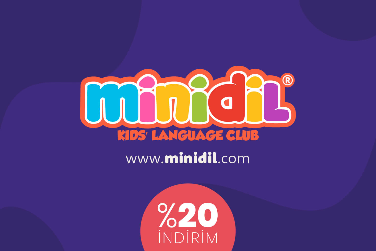 www.minidil.com Öğrencilerine ve Velilerine %20 İndirim
