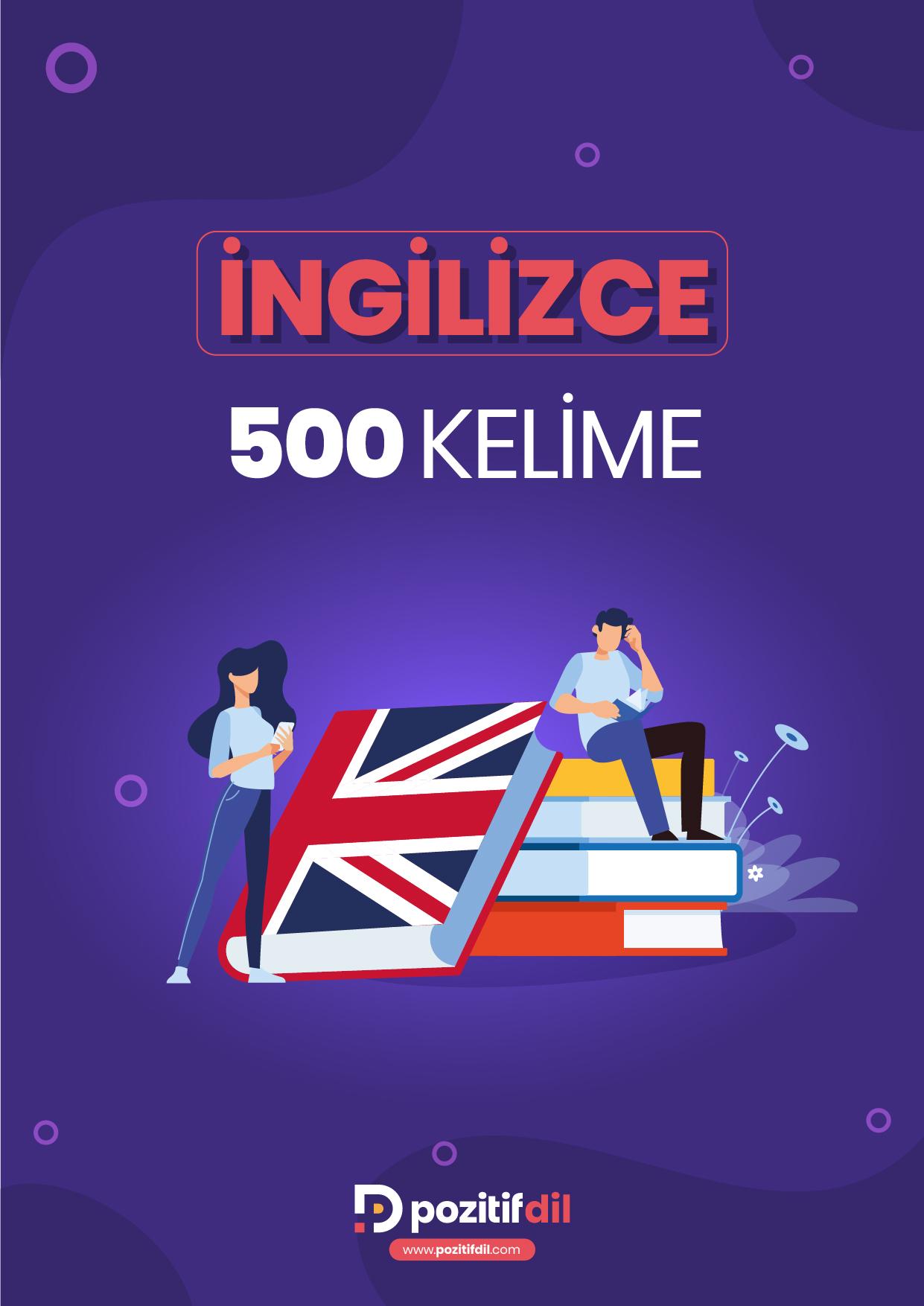 İngilizce 500 Önemli Kelime